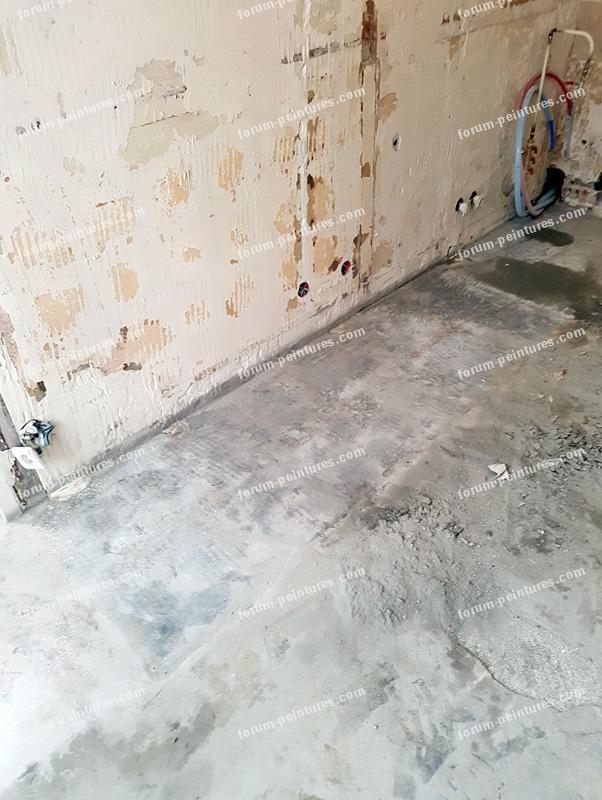 enduire mes murs en machefer bois et plâtre