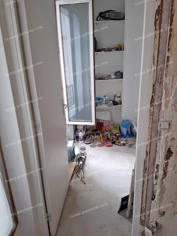 Enduire un mur en machefer bois et plâtre