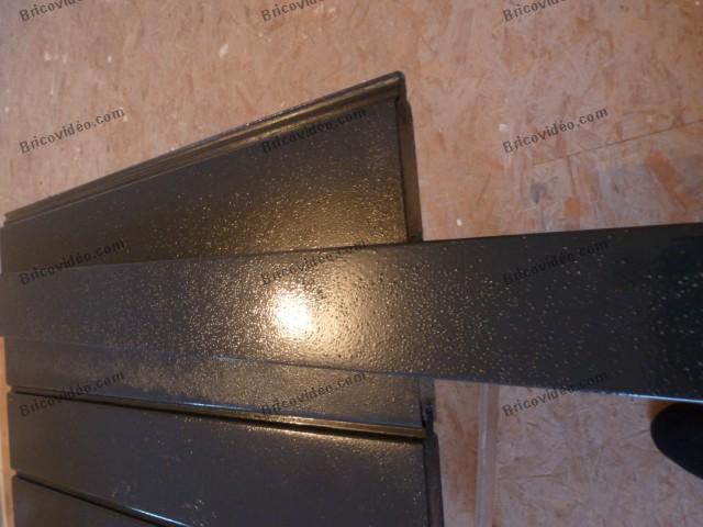 Problème peinture portail en alu
