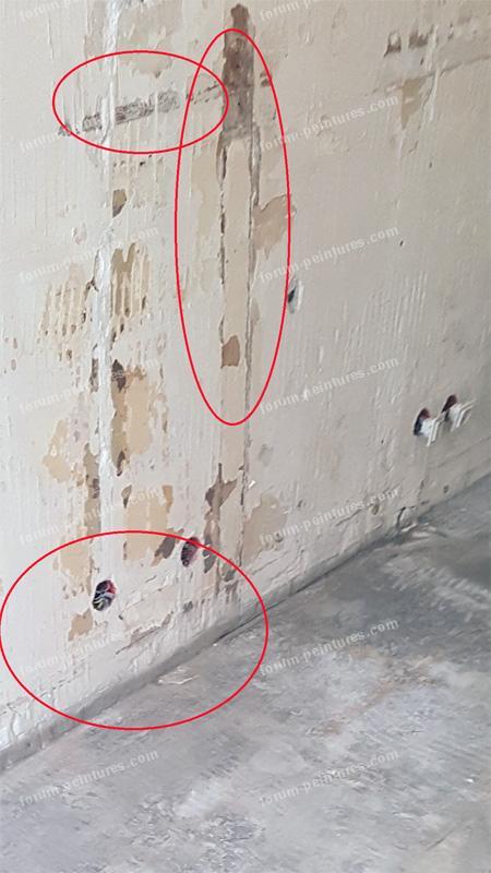 Conseils rénovation murs mâchefer recouverts de plâtre